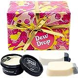 (ラッシュ) LUSH デュー ドロップ Dew Drop ギフトセット ショップバッグ付き 入浴剤 石鹸 ボディ・ハンドローション セット