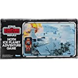 Star Wars The Empire Strikes Back Hoth Ice Planet Adventure Board Game; Based on the 1980 Board Game; Exclusive Luke Skywalke