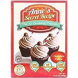 Anne's Secret Recipe Chocolate Fudge Cupcake Mix, Chocolate Fudge, 300 g