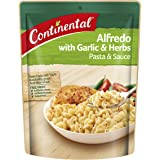 CONTINENTAL Pasta & Sauce (Side Dish) | Alfredo with Garlic & Herb, 85g