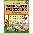 101 Fun Word Search Puzzles for Clever Kids 4-8: First Kids Word Search Puzzle Book ages 4-6 & 6-8. Word for Word Wonder Word