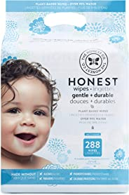The Honest Company Baby Wipes, Fragrance Free, Classic, 288ct