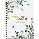 Sand and Leaves Wedding Planning Book with Stickers