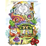 Nice Little Town: Adult Coloring Book (Stress Relieving Coloring Pages, Coloring Book for Relaxation): 4