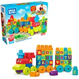 Mega Bloks ABC Learning Train Building Set Building Kit