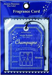 ブルーラベル フレグランスカード シャンパン(エアフレッシュナー 芳香剤 フルーティーですっきりとした香り)