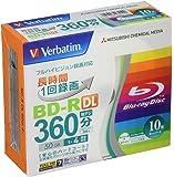 Verbatim バーベイタム 1回録画用 ブルーレイディスク BD-R DL 50GB 10枚 ホワイトプリンタブル…