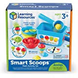 Learning Resources Smart Scoops Math Activity Set, 55Piece,Multi-color,LER6315