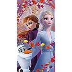 ディズニー iPhoneSE/5s/5c/5 壁紙 視差効果 アナと雪の女王2 (オラフ,アナ,エルサ)
