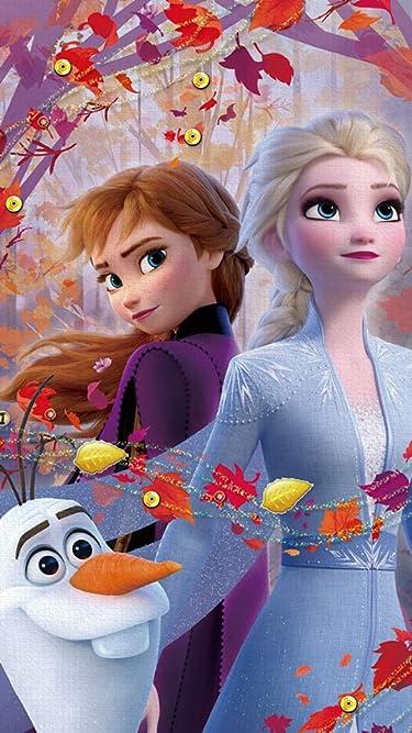 ディズニー  iPhone/Androidスマホ壁紙(540×960)-1 - アナと雪の女王2 (オラフ,アナ,エルサ)