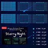 1230 PCS Ultra Glow in The Dark Stars Wall Stickers, 3D Adhesive Dots Decor Starry Sky Decor for Kids Bedroom or Birthday Gif