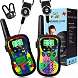 Walkie Talkies for Kids 22 Channels 2 Way Radio Kids Toys with Backlit LCD & Flashlight, Best Gifts Toys for 3-12 Year Old, U