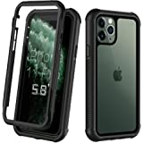 ORDTBY iPhone 11 Pro case, Full-Body Heavy-Duty Protection with Built-in Screen Bumper Protector 360 Protective Shockproof Ru