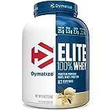 Dymatize Elite 100% Whey Protein Powder, 25g Protein, 5.5g BCAAs & 2.7g L-Leucine, Quick Absorbing & Fast Digesting for Optim