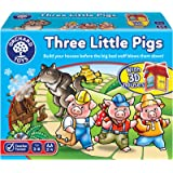 Orchard Toys 81 - Three Little Pigs Game Assorted Colours Lime Green