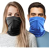 2pc Cooling Neck Gaiter Cooling Face Cover, Cooling Neck Wraps for Summer Heat, Cooling Bandana Scarf for Face & Neck Cool Ba