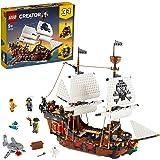 LEGO Creator 31109 Pirate Ship Building Kit (1264 Pieces)