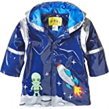 Kidorable Boys' Little Space Hero All Weather Waterproof Coat