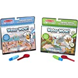 Melissa & Doug Water Wow Deluxe Bundle: Around Town & Around Animal Antics