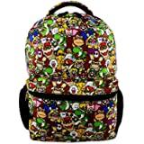 "Nintendo Super Mario Brothers Boys Girls Teen 16"" School Backpack"