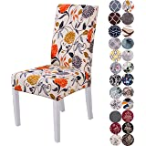 Lalluxy Stretchy Parson Chair Slipcovers for Dining Room Chair seat Covers Chair Protectors for Party Pet Protection Universa
