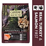 CANIDAE Grain Free Pure Ancestral Diet, High Protein Freeze-Dried Raw Coated Dry Cat Food, 5 Pound