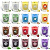 Scented Candles Gift Set, 20 Packs Aromatherapy Candle Made by Soy Wax, Per Pack 2.2 Oz, 15 Hours Long Lasting Burning Time,