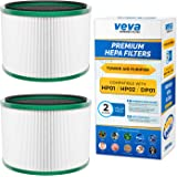VEVA Premium HEPA Replacement Filter 2 Pack Compatible with All Dyson Pure Cool Link DP01, DP02 and Dyson Pure Hot + Cool Lin