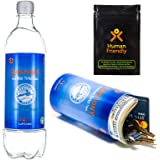 PartyBottle Diversion Safe Bottle Stash Can w/Smell-Proof Stash Bag by HumanFriendly - Ultra-Discrete, Authentic Looking BPA-
