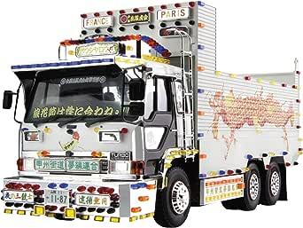 青島文化教材社 1/32 バリューデコトラシリーズ No.49 甲州街道夢線連合 大型ダンプ プラモデル