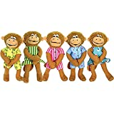 Five Little Monkeys Finger Puppet Playset