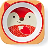 Skip Hop Baby Bowl: Dishwasher Safe Zoo Bowl, Fox