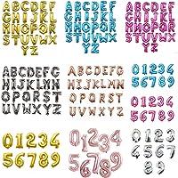 TAIGA 組み合わせ 自由 バルーン 風船 飾り付け 数字 アルファベット イベント装飾 ゴールド シルバー ピンクゴ…