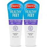 O'Keeffe's 103011 Night Treatment Foot Cream, White