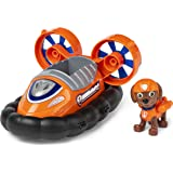 PAW Patrol Zuma's Hovercraft Vehicle with Collectible Figure, for Kids Aged 3 and Up