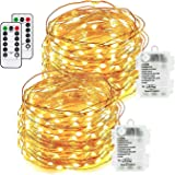 Fairy Lights 200 LED 20m Warm White Indoor Christmas Lights Festive Halloween Wedding Bedroom Novelty Decorations Tree String