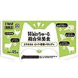 [Amazon限定ブランド] Figaro 国産犬用ちゅ~る [総合栄養食タイプ] 14g×45本(5種類) とりささみ ビーフ・野菜バラエティ