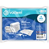 Jumbo XXL Vacuum Storage Bags, 47 x 35 Space Saver Bags for Clothes, King Comforters or a Small Mattress, Thick & Strong XXL