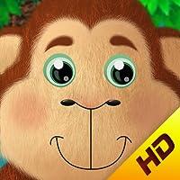 5 Little Monkeys HD - Interactive Nursery Rhyme