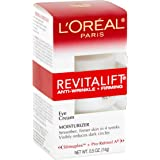 Eye Cream with Pro Retinol, L'Oreal Paris Skincare Revitalift Anti-Wrinkle and Firming Eye Cream Treatment to Reduce Dark Cir