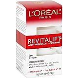 Eye Cream with Pro Retinol, L'Oreal Paris Skincare Revitalift Anti-Wrinkle and Firming Eye Cream Treatment to Reduce Dark Cir