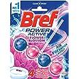 Bref Power Active Flower Blossom with Air Freshener Effect, Rim Block Toilet Cleaner, 50g