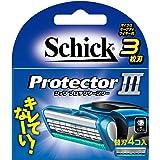 シック Schick プロテクタースリー 3枚刃 替刃 (4コ入)