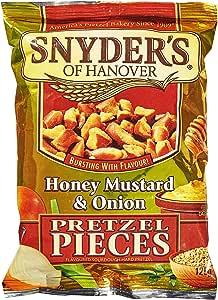 Snyder's Honey Mustard and Onion Pretzel pieces 125g