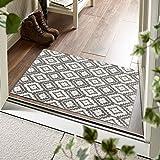 OJIA Moroccan Throw Rugs Outdoor Rug, Area Rug Non Skid, Welcome Door Mats Indoor Kitchen Carpet for Entryway Bedroom Living