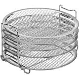 Dehydrator Stand Accesories Compatible With Ninja Foodi Pressure Cooker and Air Fryer (6.5 Quart and 8 Quart). FDA inspection