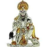 ibaexports Lord Hanuman Statue Car Dashboard Office Décor Religious Table Décor