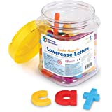 Learning Resources Jumbo Magnetic Lowercase Letters, Multi-Color, Set of 40 Pieces, Ages 3+