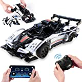 ZAYOR STEM Building Toys 2.4 Ghz Remote Control Race Car Model Cars Kits as a Birthday Gift for Childs Rc Car for Boys 6 7 8