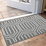 "Indoor Doormat, Non Slip Absorbent Resist Dirt Entrance Rug, 24""x36"" Machine Washable Low-Profile Inside Floor Door Mat"